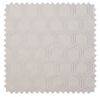 Hexagon / Metallic Geometric - Platinum