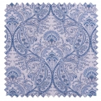 Melodie / Toile Paisley - Frost Blue