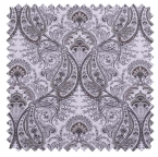 Melodie / Toile Paisley - Platinum Grey