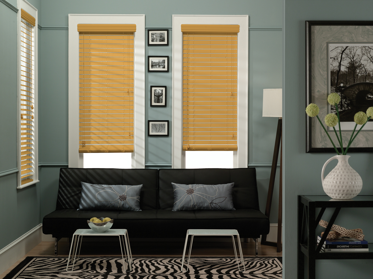 2 Faux Wood Blinds Home And Office Design 95 Blinds For