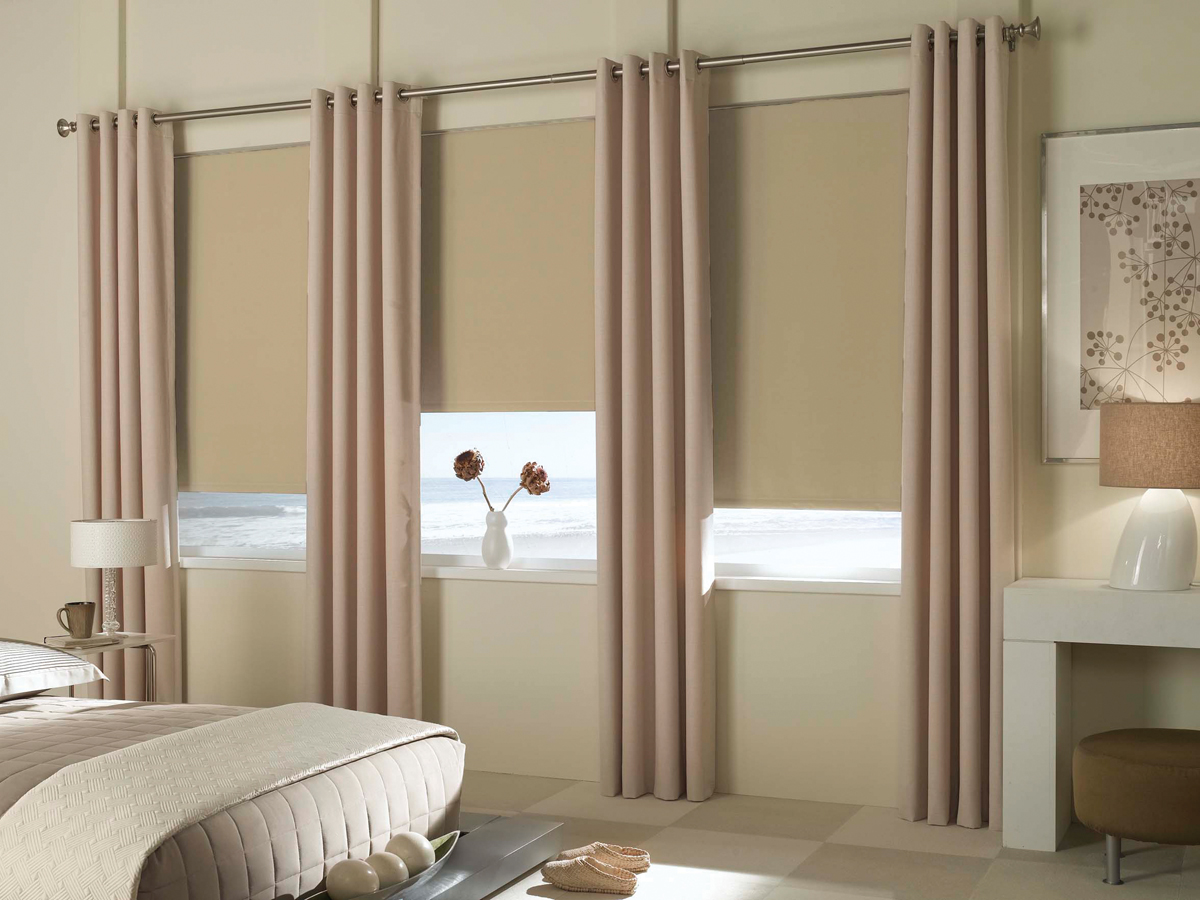 Blackout Roller Blinds : Phase ii shades