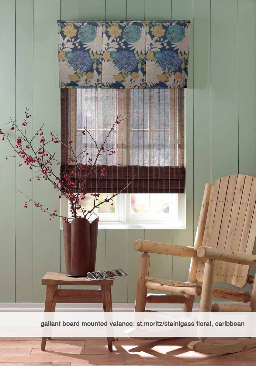 Home Top Treatments Board Mounted Valances
