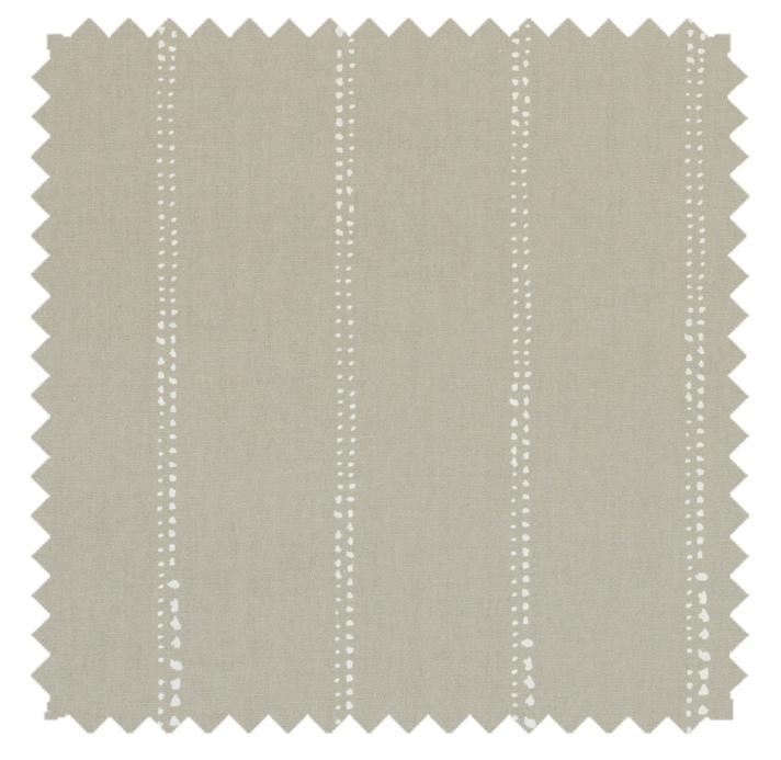 Carlo / Dot Stripe Print - Cove