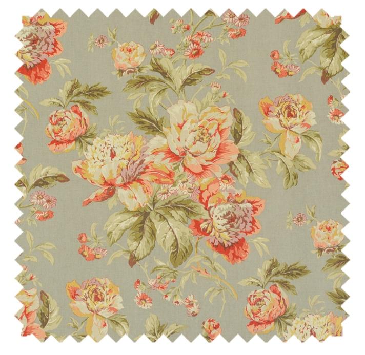 Fleuretta / Grandscale Floral Print - Slate