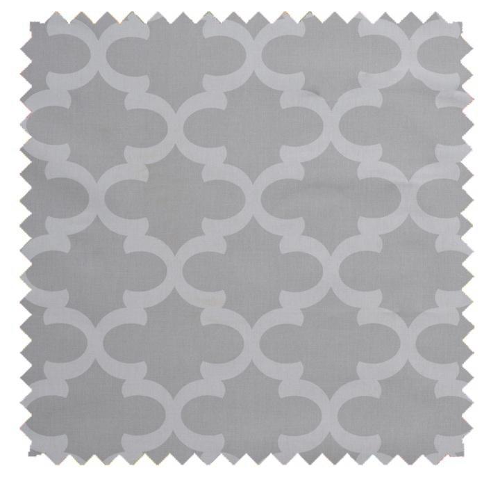 Fynn / Lattice Print - French Grey