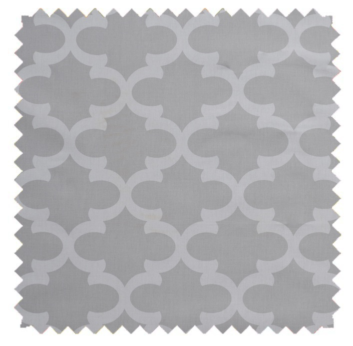 Fynn / Lattice Print - French Grey