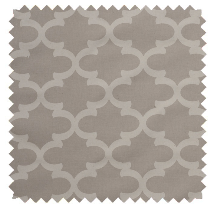Fynn / Lattice Print - Natural