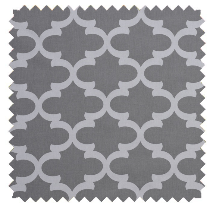 Fynn / Lattice Print - Storm