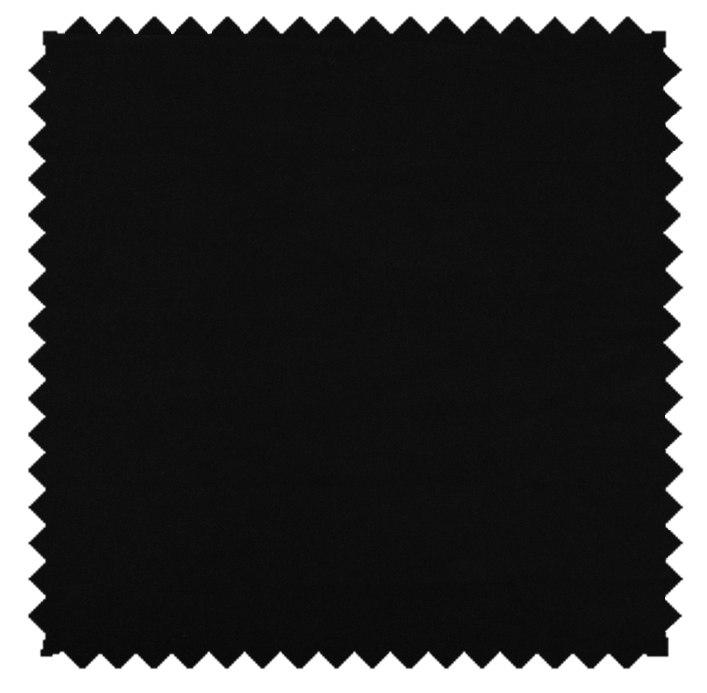 Lucky / Cotton Sateen - Black