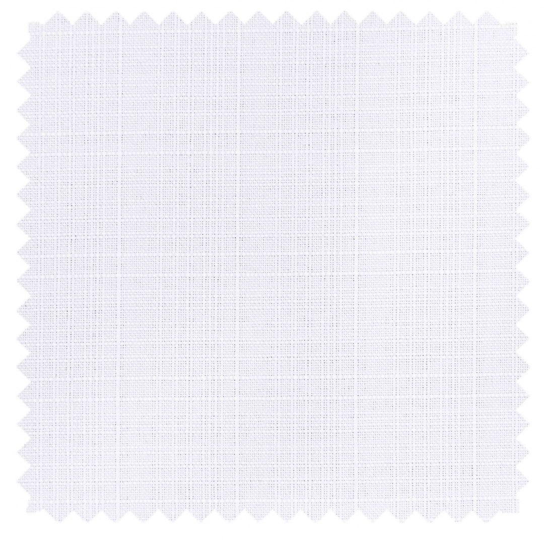 Rio / Faux Linen - Winter White