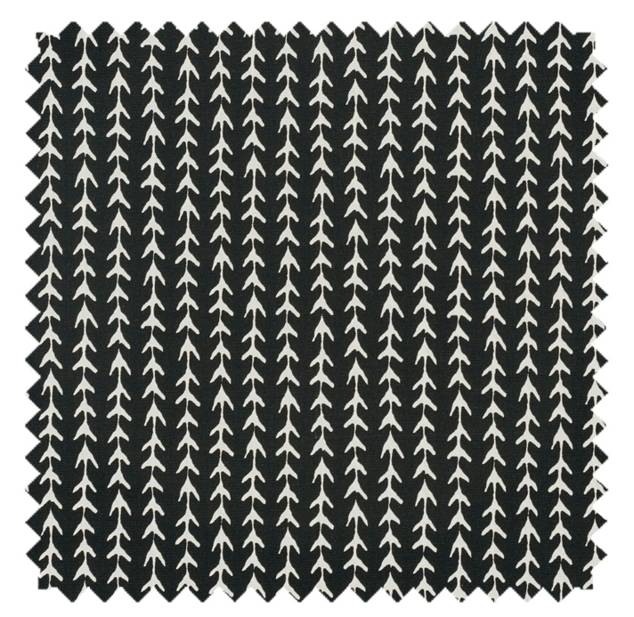 Vine / Fine Vine Print - Black