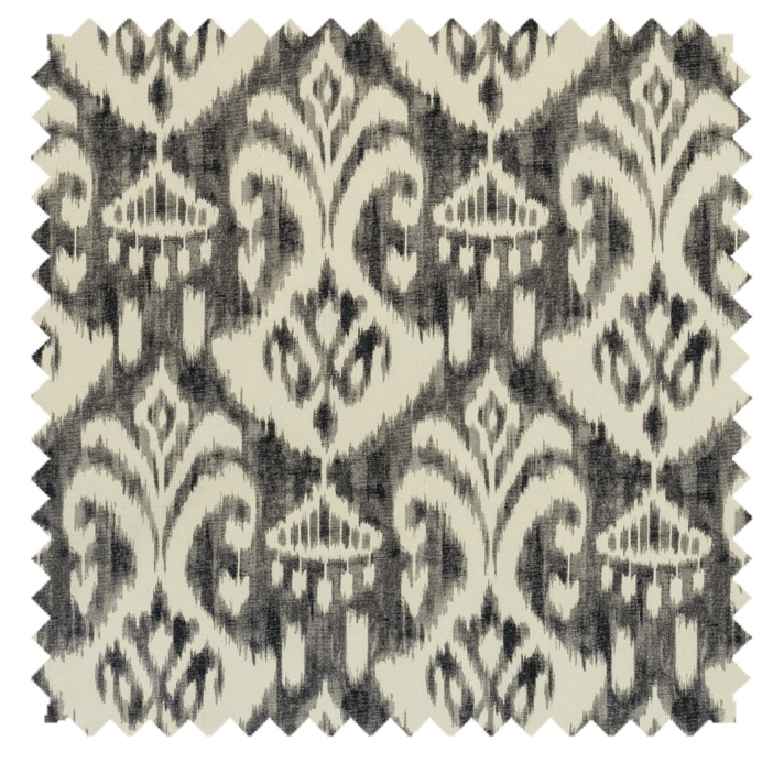 Voisey / Ikat Print - Greystone