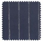 Carlo / Dot Stripe Print - Vintage Indigo
