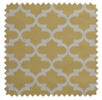 Fynn / Lattice Print - Saffron