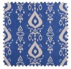 Tullahoma / Ikat Print - Bay Blue