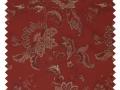 Camellia / Floral Brocade - Fire