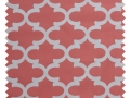 Fynn / Lattice Print - Coral