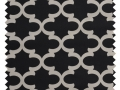 Fynn / Lattice Print - Onyx