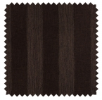 Ashton Stripe / Poly Awning Stripe - Chocolate