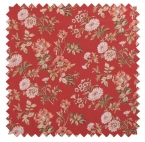 Farrell Print / Country Blossom - Crimson