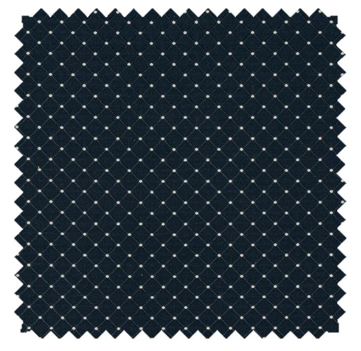 Dover / Diamond Dot - Indigo