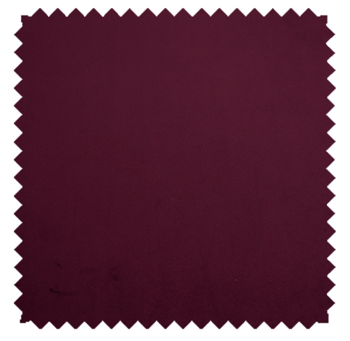 Plush Velvet / Knit-Backed Velvet-Plum Wine