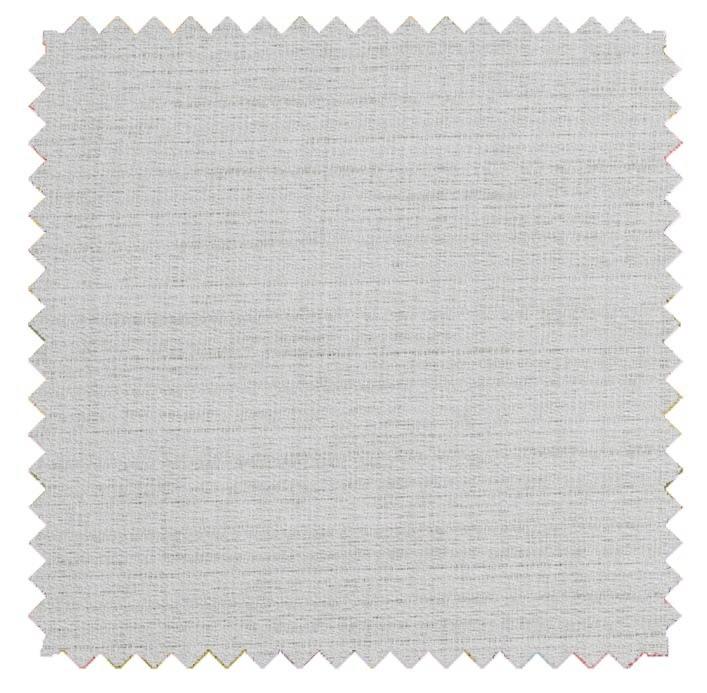 Raw Silk Crepe - White