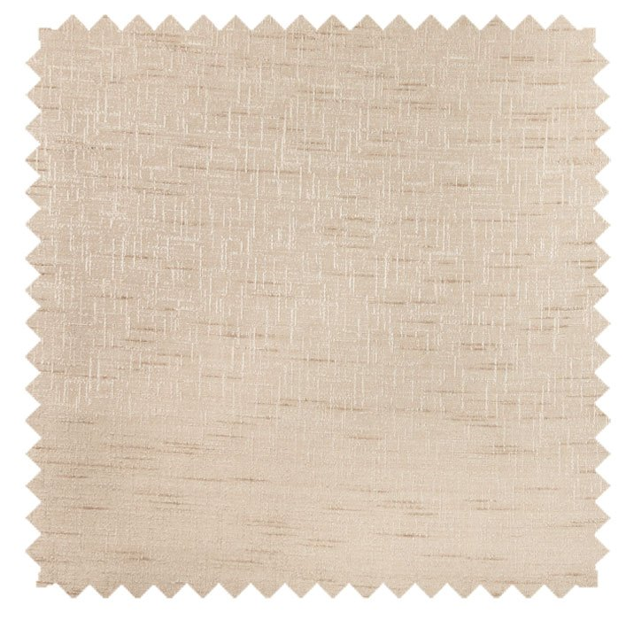 Silkara / Shimmery  Crosshatch Texture- Cashew