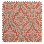 Donnington Damask / Ornate Print  - Clay