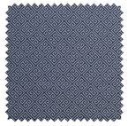 Greek Key/Greek Key Jacquard - Navy / White