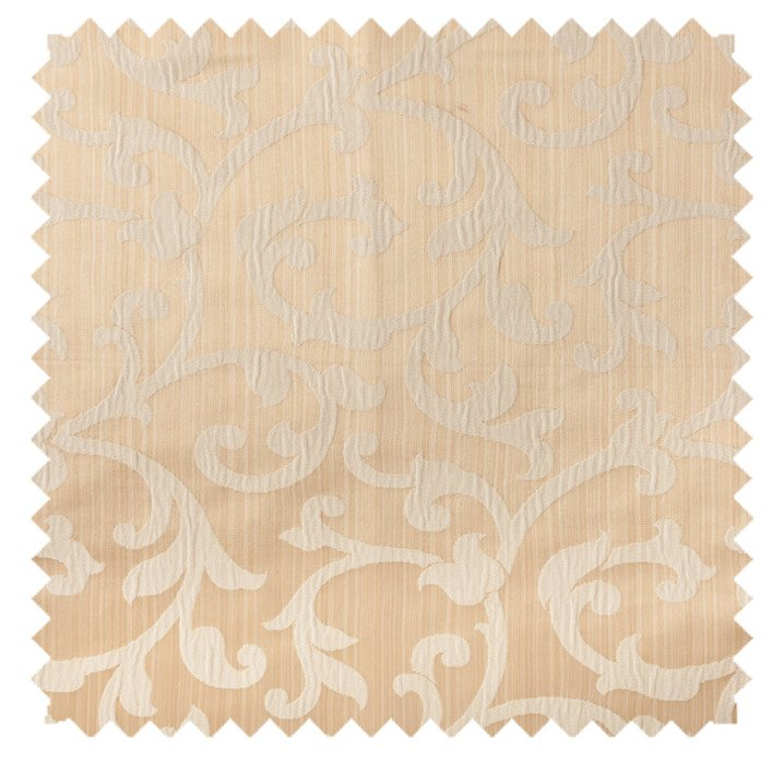 Bermuda / Plisse Scroll - Beige