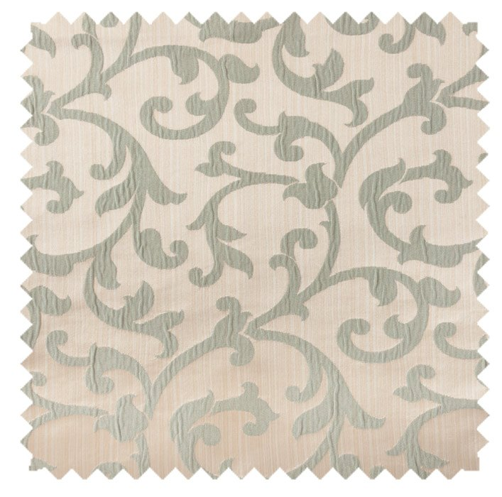 Bermuda / Plisse Scroll - Sage