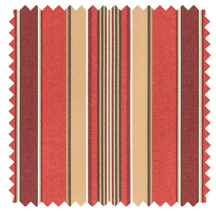 Harrison Stripe / Relax Stripe - Vintage Red