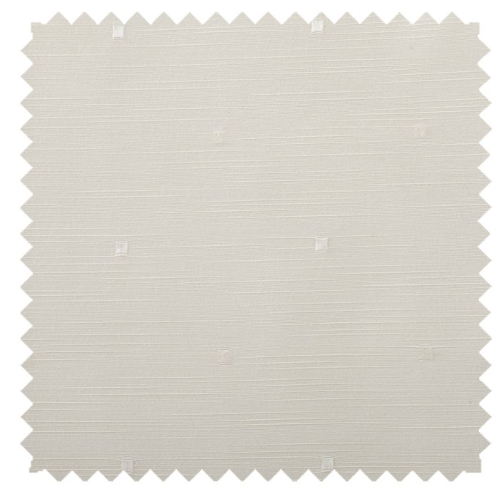 Regal Square / Square Dot - Winter White