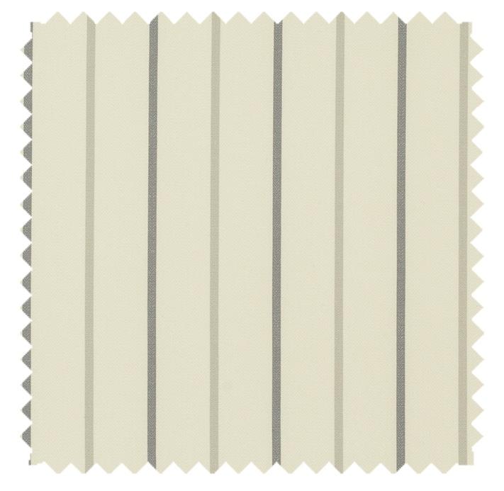 Calvin / Simple Stripe  - Silverhaze
