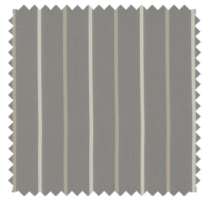 Calvin / Simple Stripe  - Steel