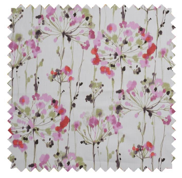 Dandelion / Painterly Floral Print  - Pink