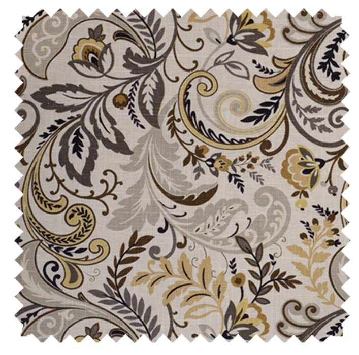Findlay / All Over Willow Print  - Charcoal