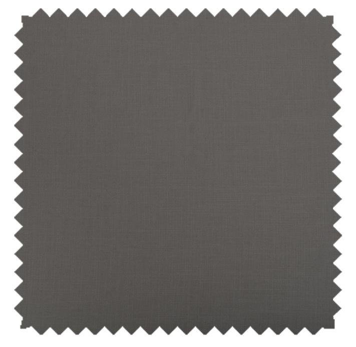 Gent / Linen Blend Solid  - Charcoal