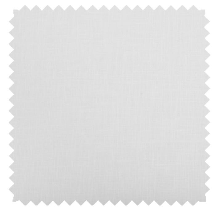 Gent / Linen Blend Solid - Snow