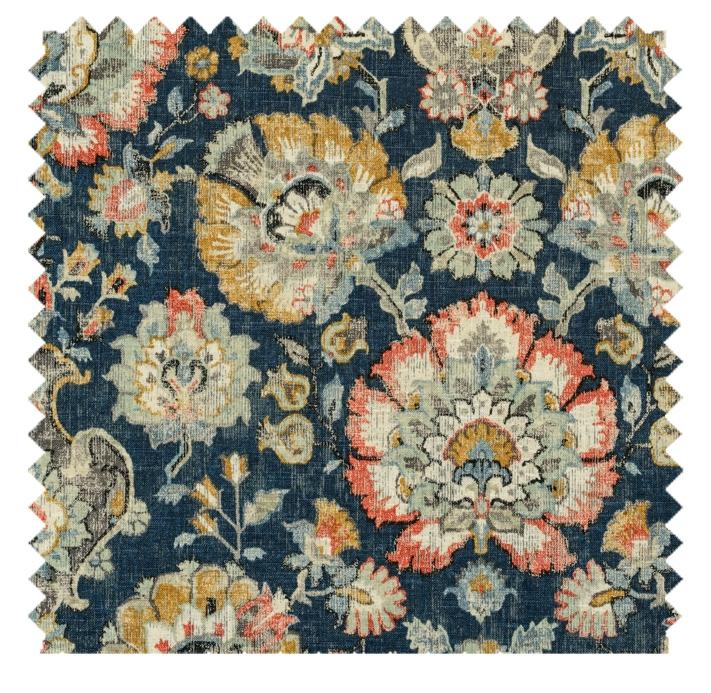 Nottingham / Carpet Print  - Sapphire
