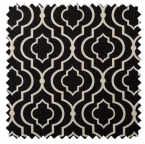 Donetta / Ironwork Print - Licorice