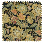 Valdosta / Jacobean Print  - Night Sky