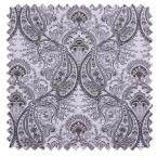 Melodie / Toile Paisley - Platinum Grey