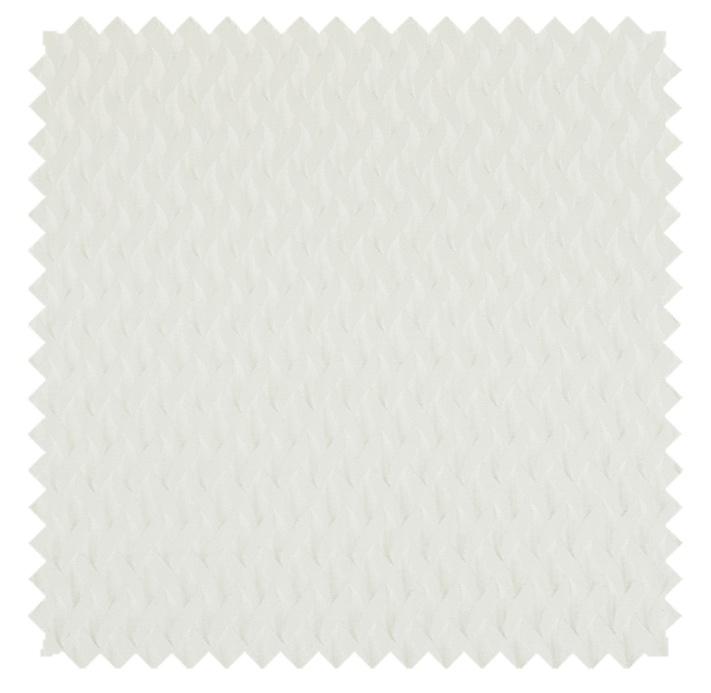 Dimples /3-D Matelasse - White