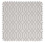 Soprano / Metallic Gate Jacquard  - Silver