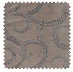 Parma / Paisley Embroidery - Platinum